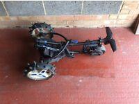 Moto caddy push trolley