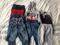 6-9 and 9-12 month clothing bundle