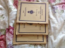 The Antelope. The Journal of the Royal Warwickshire Regiment. ( 3 copies )