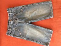 denim bermuda short boys/girls - size 3 years / 94 cm