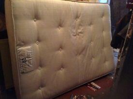 Sealey posturpedic double mattress,£70.00