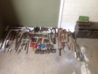 Various engineers tools