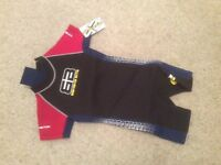 Wetsuit for a child shortie design