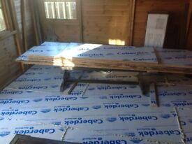 5 Sheets of Caberdek Flooring Boards .2500 x 600