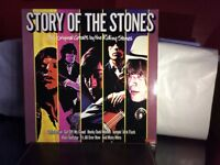 Rolling Stones vinyl album story of the stones