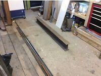 RSJ Steel Lintel. 100 x 180 x 1.8 m long