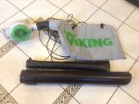 Viking BE 600 garden leaf blower / vac 1100w