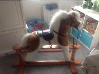 Holland & bailie rocking horse