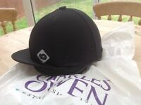 Charles Owen young riders skull cap with cover. Size 0 1/2 (54cms or 6 5/8)