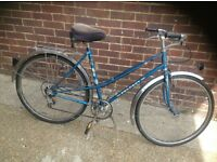 Vintage Ladies Peugeot Town Bike 5 speed