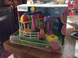 Peppa Pig's Theme Park Ballon Ride