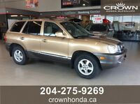 2004 HYUNDAI SANTA FE GLS V6 4WD - SAFETIED & READY TO GO!