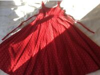 Children's Red Party Dress