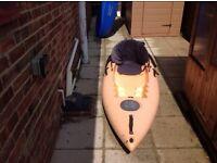 Kayak sit on with seat,
