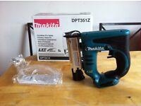 new makita 18v pin nailer dpt351z Made in Japan, 23 gauge. dpt351 bare tool