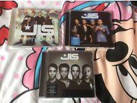 SET OF 3 JLS ALBUMS