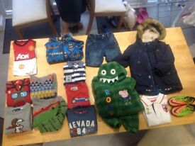 Selection of boys clothes age 3-5 years
