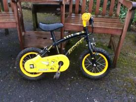 Kids Apollo Stinger bike