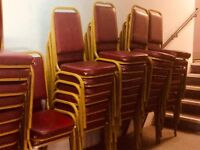 Banqueting chairs - collection only (London W1)