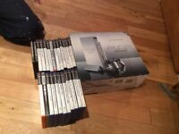 Sony Play Station 2 console Satin Silver (boxed) an various games