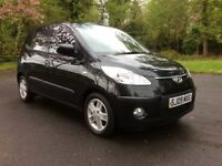 2009 Hyundai i10. MOT April-2019, Full Service History, 1 former doctor keeper, 5 dr, P/X Possible