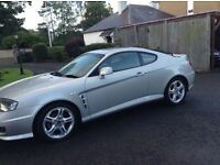 Hyundai Coupe SE Automatic. Low Mileage. FSH. Excellent Condition. High Spec. Electric Sunroof.