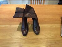 Brown Nine West Boots size 8