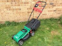 QUALCAST ELECTRIC ROTARY 1300W LAWNMOWER / LAWN MOWER