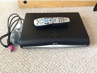 Sky+HD box with remote and cables