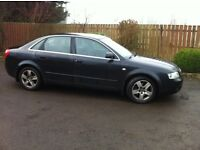 Audi A4 - 2.5tdi 2004 black good condition 6months mot