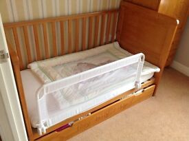 Nursery furniture Cot and wardrobe and changing top