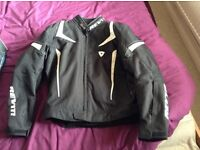 Rev it 2xl motorcycle jacket and trousers like new