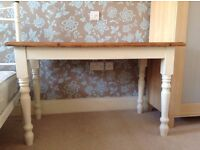 Stunning shabby chic farmhouse table and chairs