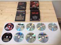Halloween/ Horror DVD job-lot! (A Nightmare on Elm Street x7 disc box-set! Texas Chainsaw! Werewolf!
