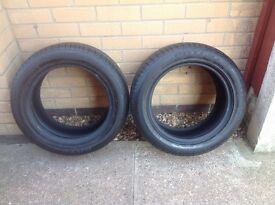 Bridgestone Potenza Tyres pair of