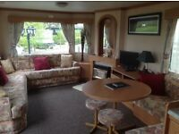 4 berth caravan to rent on small site