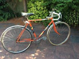 Raleigh Racing Bike