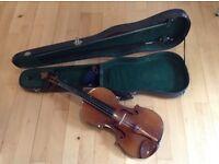 Vintage beginners violin