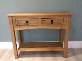 Pine wood side dresser
