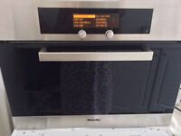Miele dg4060 integrated steam oven with navitronic dials
