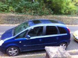 Vauxhall Mervia Design DIESEL, Only 85,500 MILES. NEW MOT VERY VERY ECONOMICAL.