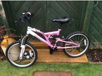 Girl's bike 7-9 years
