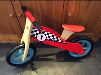 Grow and Play Super Fast Wooden Balance Bike