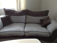 2 , 3 seater sofas, only 16 months old, very good condition, collection March in Cambridgeshire