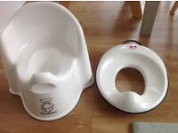 Baby Bjorn potty chair and toilet training seat