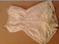 Holister lace play suit