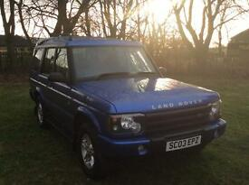 2003 Land Rover discovery td5 s 7 seater (12 months Mot) *SERVICE RECORD* 6 months warranty