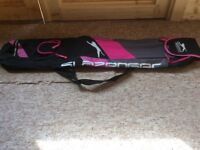 Slazenger pink hockey bag in mint condition