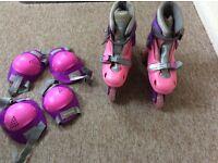 Girls Dunlop inline skates