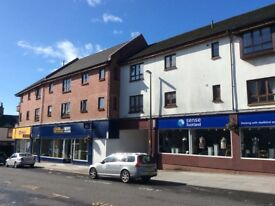 Alloa town centre; Drysdale Street, one bed flat to let